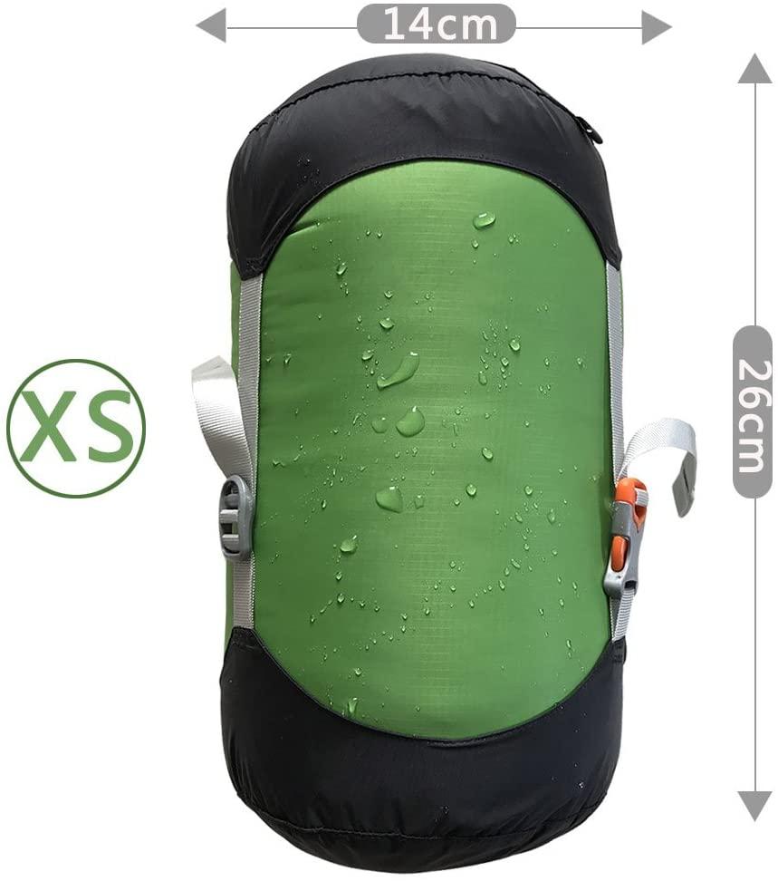 WIND HARD Compression Stuff Sack Waterproof Sleeping Bag Compression Stuff Sack Pack Storage Bags 5 Size (2L-6L)