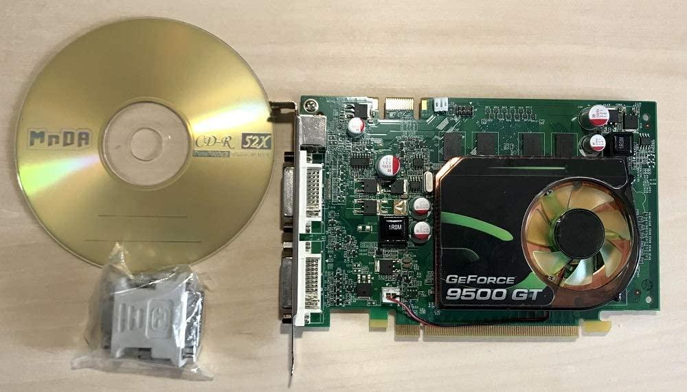 New Tangca GeForce 9500 GT 1 GB 128-Bit DDR2 G96GT PCI-Express Graphics Card (for Windows 10 8 7 ...) GeForce 9500GT 1024 MB 128-bit PCI-E Video Card , for HP Computer Graphics Card Desktop PC