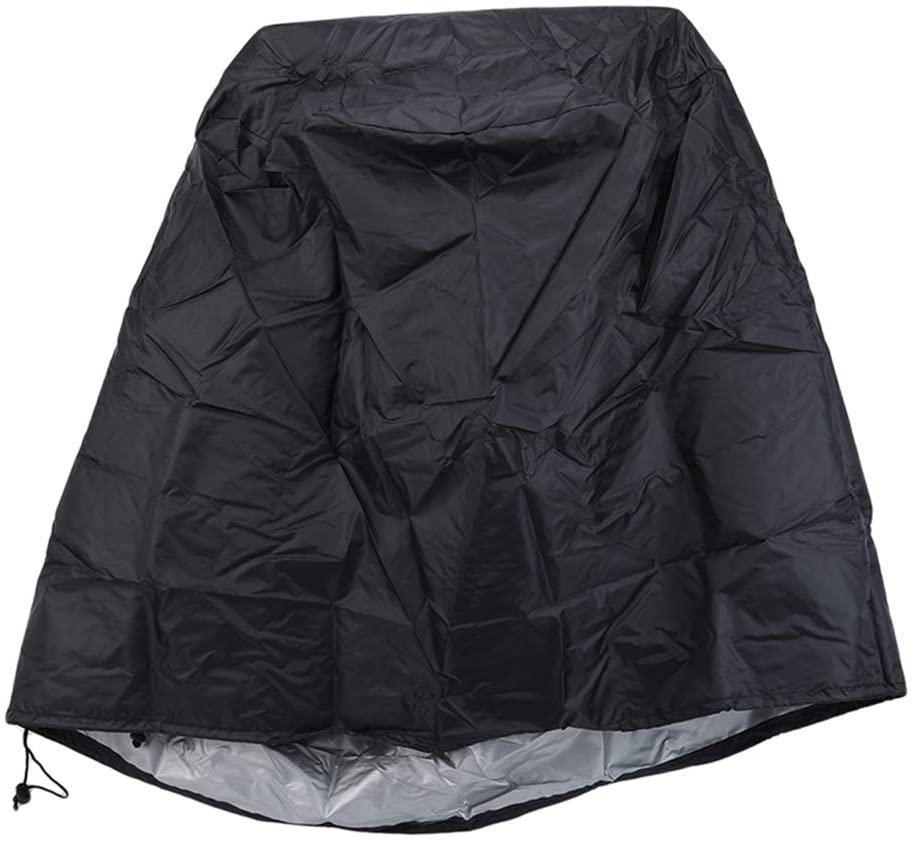 SONGLIN Waterproof Outdoor Patio Garden BBQ Furniture Covers Rain Chair Covers for Sofa Table Chair DustProof Armchairs Couch Covers,Black