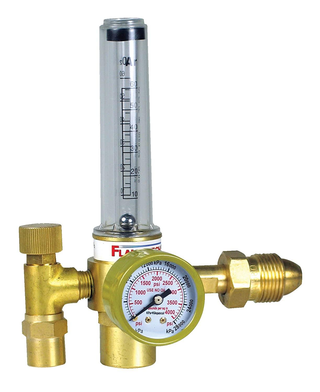 Flame Technologies 100-FL-AR-60-580 Flow Meter, Argon