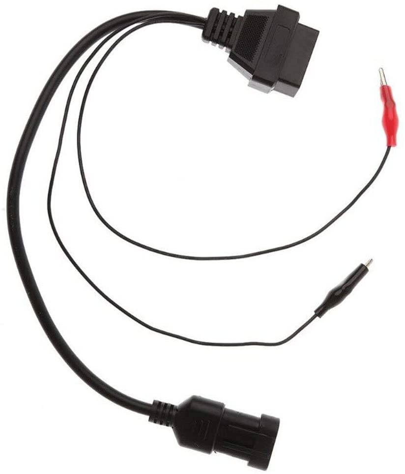 Davitu Cables, Adapters & Sockets - Adapter Cable OBD2 3 Pin Diagnostic Connectors For Fiat Romeo Lancia Cables Adapters Sockets Accessories