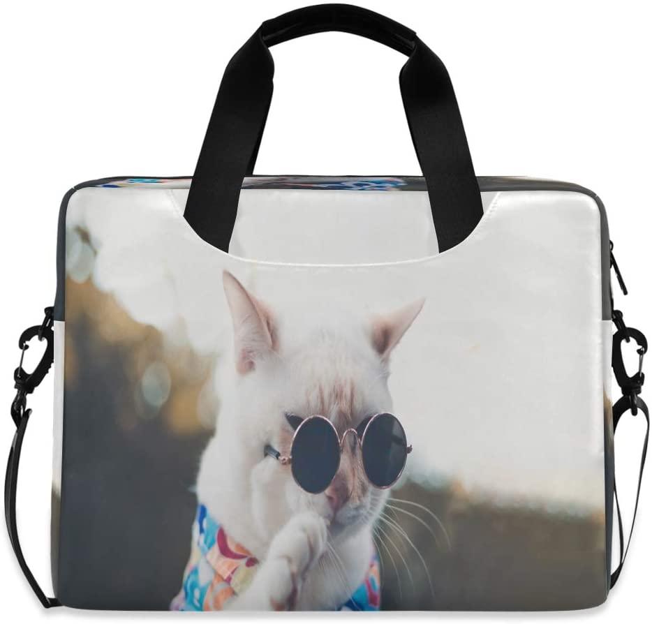 Hipster Sunglasses White Cat Hop 15.6