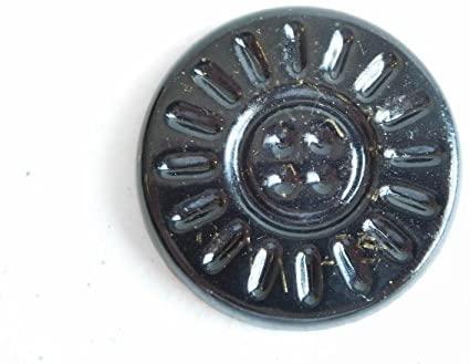 Black Sun Little Sunshine Power Coin Brass Crystal Orgone Generator Energy Accumulator 528Hz/7.83Hz/Advance Harmonics (Little Sunshine Power Coin, Black Sun-Brass)