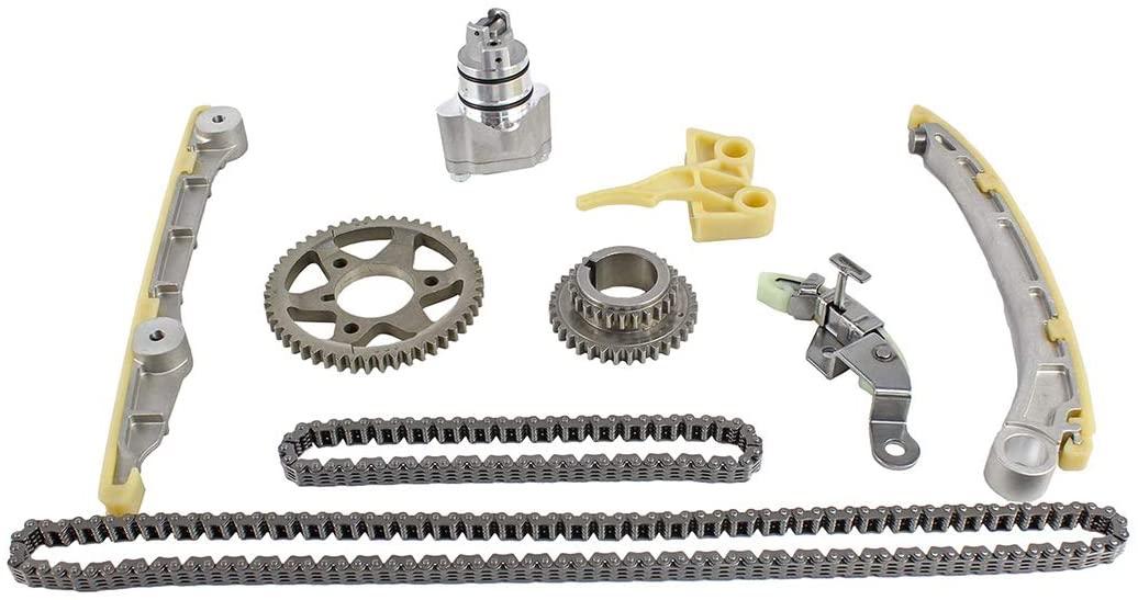 DNJ TK210 Timing Chain Kit for 2000-2009 / Honda / S2000 / 2.0L, 2.2L / DOHC / L4 / 16V / 1997cc, 2157cc / F20C1, F22C1