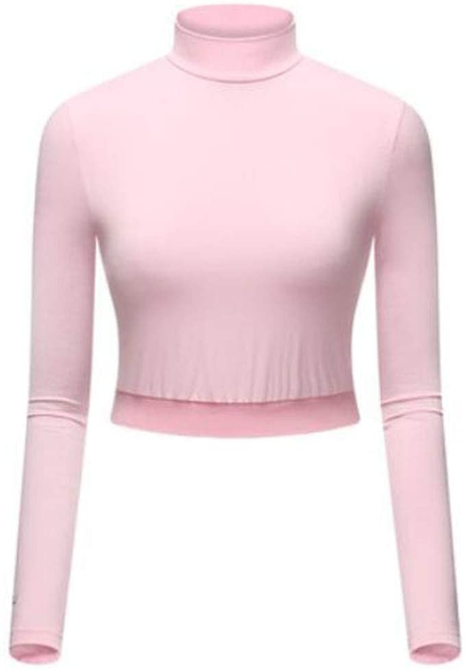 Maya Star Outdoor Sports Autumn Winter Golf Clothing Shirt UV Protection Shawl Arm Sleeve Breathable Golf Clothes Wraps Anti-UV Long Sleeve Shrug Women(Pink)