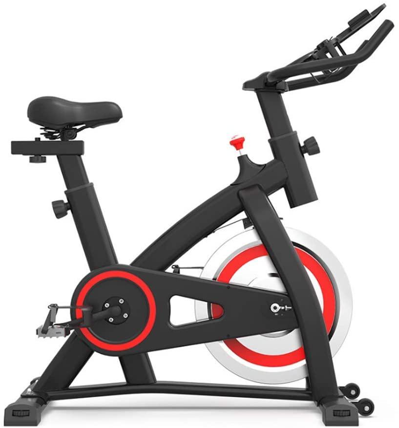 ZXWCYJ Cardio Workout Machine Upright Bike, 6Kg Flywheel Workout Bike, Belt Drive Indoor Cycling Bike Stationary with Ipad Mount, for Home Cardio Gym