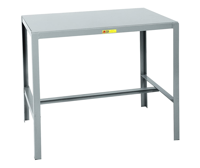 Little Giant MT1-2448-36 Steel Top Machine Table, 24 D x 48 W x 36 H, Gray