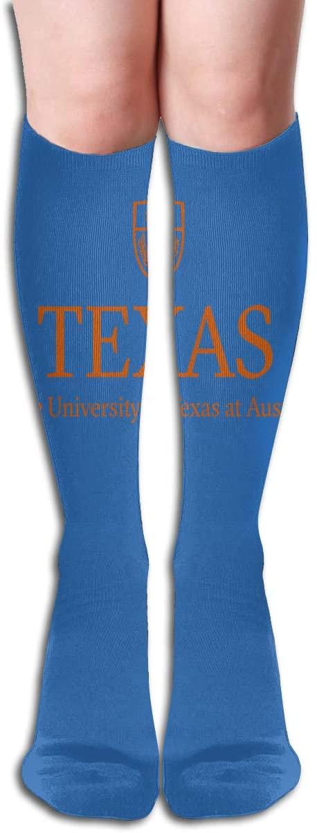 Ut-Austin Mens/Womens Comfortable Casual Funny Long Knee High Socks Compression Socks Winter Warm Soccer Socks
