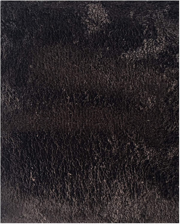 Mohawk Home Cut to Fit Royale Velvet Plush Bath Carpet, Fine Chocolate, 6 by 10 Feet
