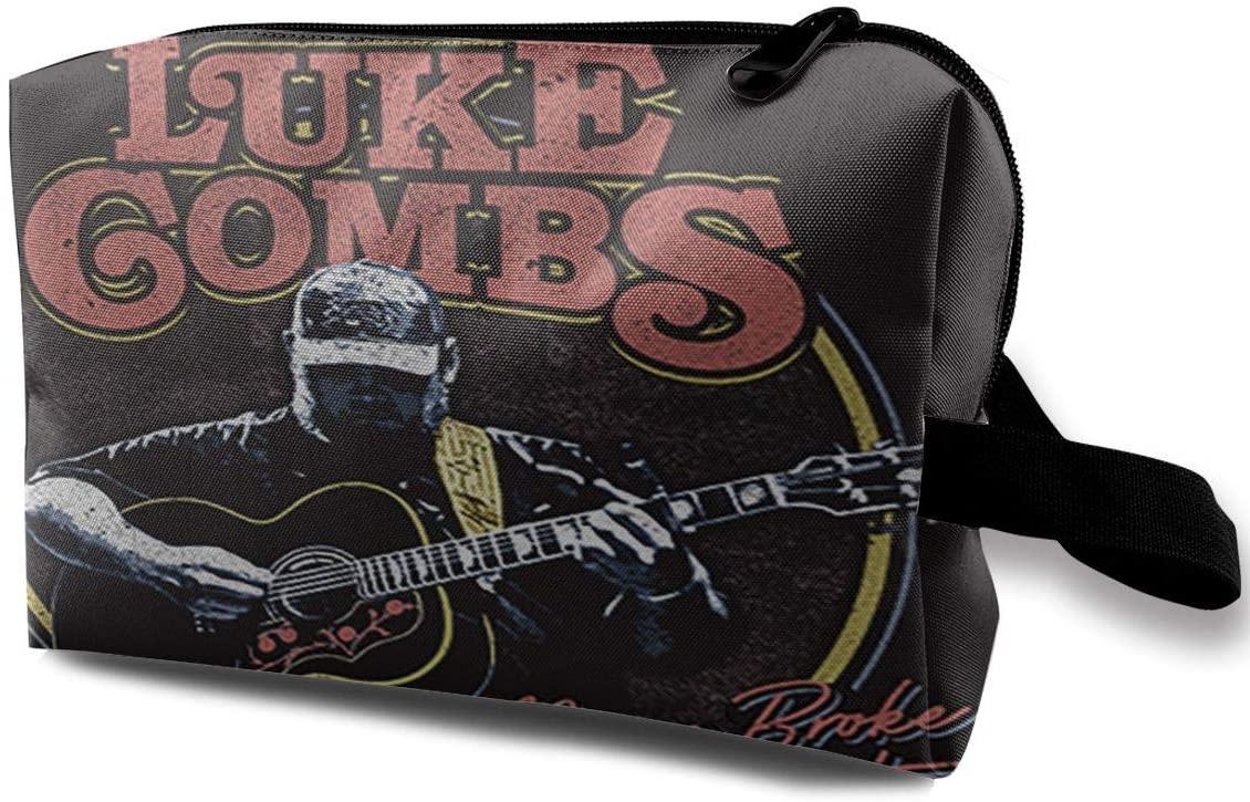 NOT Luke Comb Storage Travel Cosmetic Case Cosmetic Bag Portable Travel Bag Art Storage Bag
