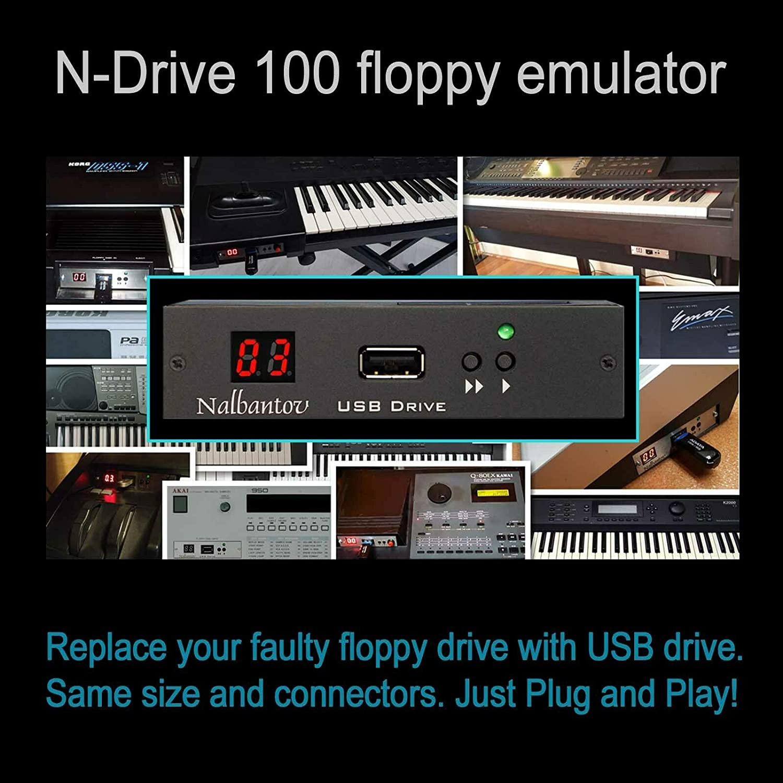 Nalbantov USB Floppy Disk Drive Emulator N-Drive 100 for Akai S950