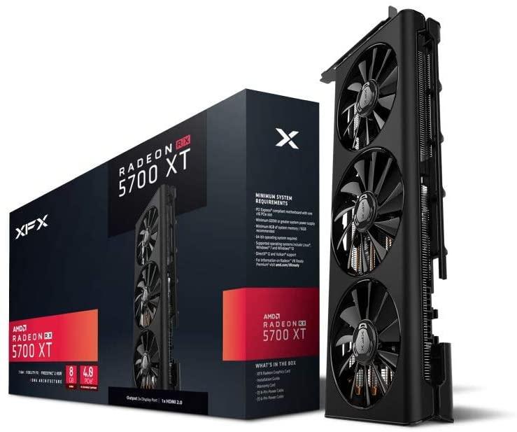 XFX RX 5700 XT Triple Dissipation 8GB GDDR6 3xDP HDMI Graphics Card RX-57XT83LD8