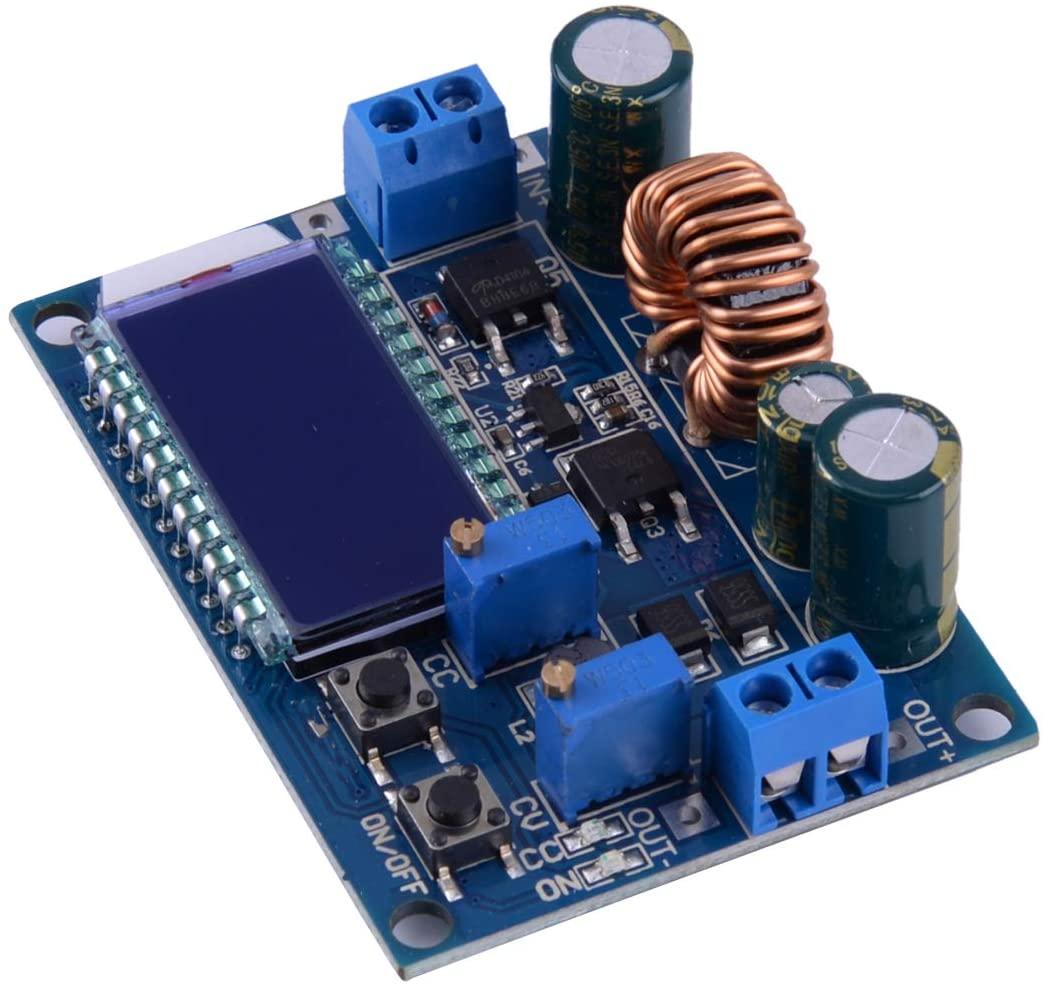 LETAOSK 35W 4A Adjustable Buck Boost Converter Display Constant Current Voltage Voltage Regulator Module