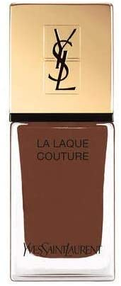 YSL LA LAQUE Couture Fall Look 2019 Marron Sulfureux #118 Nail Lacquer