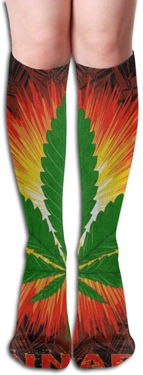 Socks Funny Marijuana Leaf Word Cannabis Marvellous Womens Stocking Gift Sock Clearance