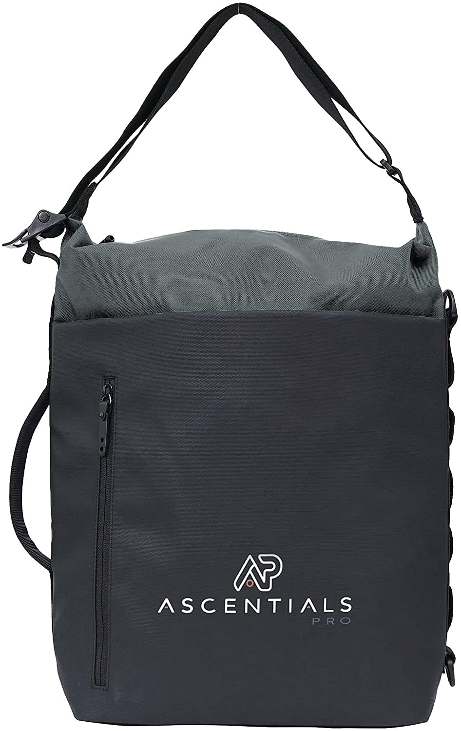Ascentials Pro Blaze, Nylon Backpack, Professional Laptop Backpack for Men with 15 Inch Laptop Sleeve (Loden)