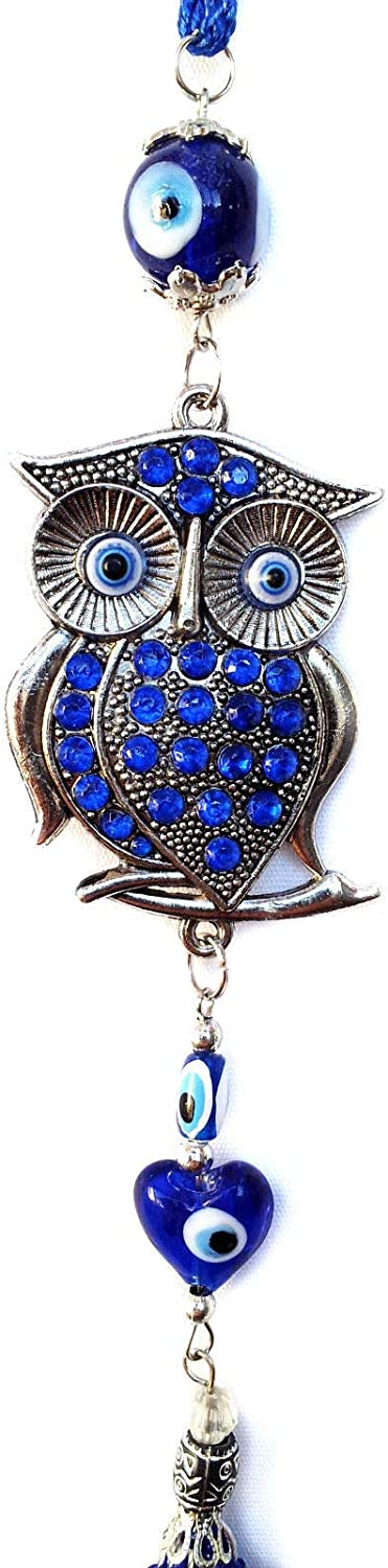 Fashion Feng Shui Blue Evil Eye Charm Almulet Hanging Or Wall Decoration for Protection