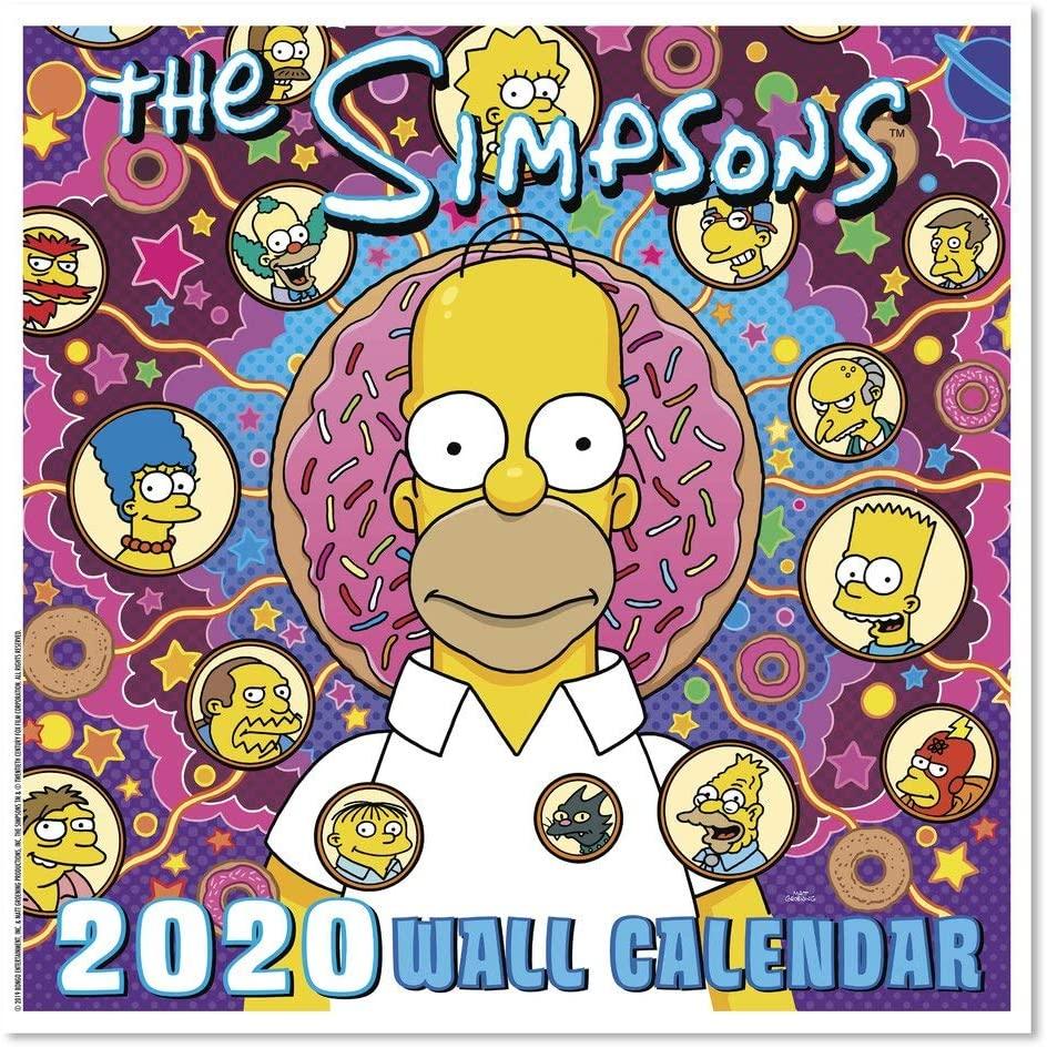2020 The Simpsons Wall Calendar (DDD9862820)