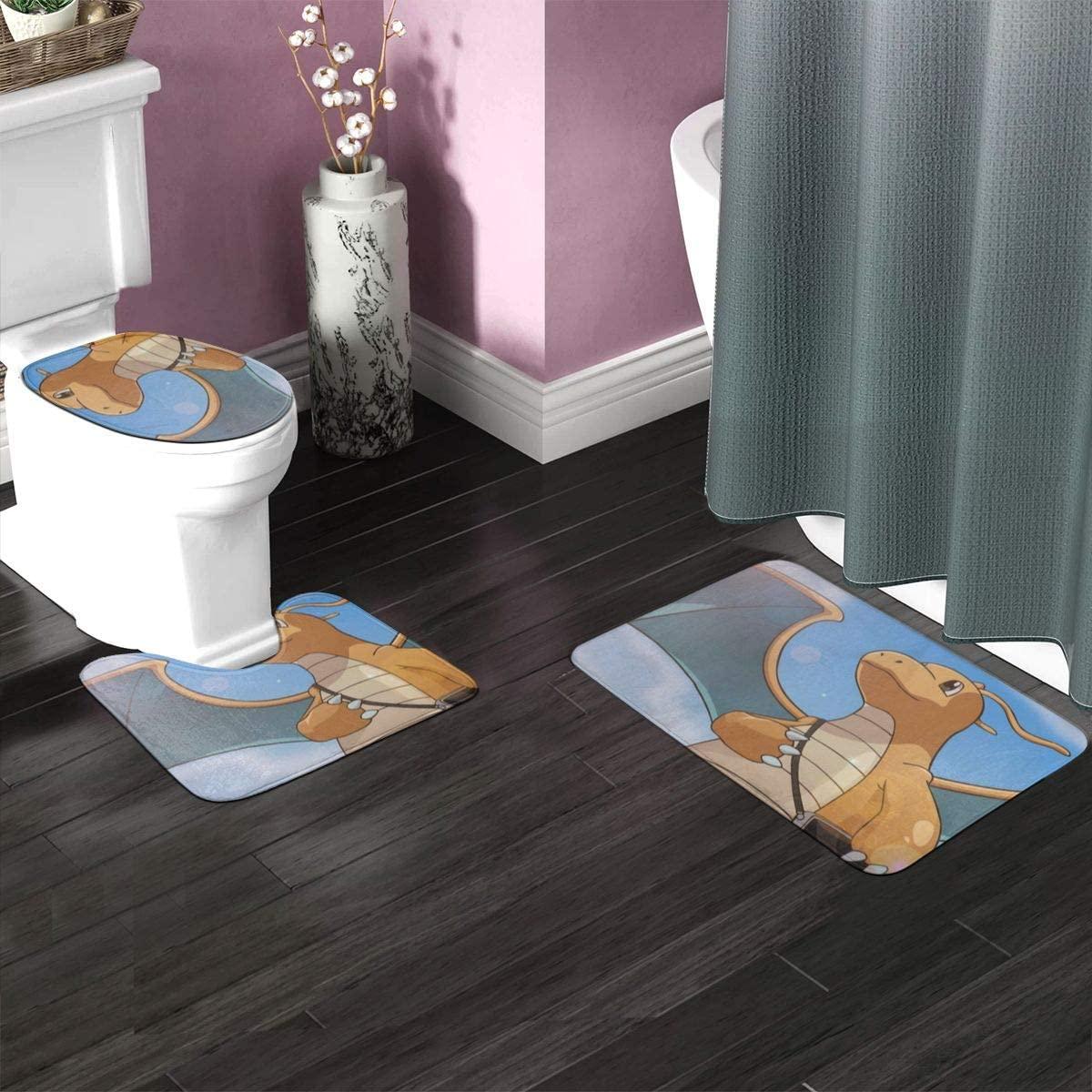 3PC Bathroom Rug Set 23.6