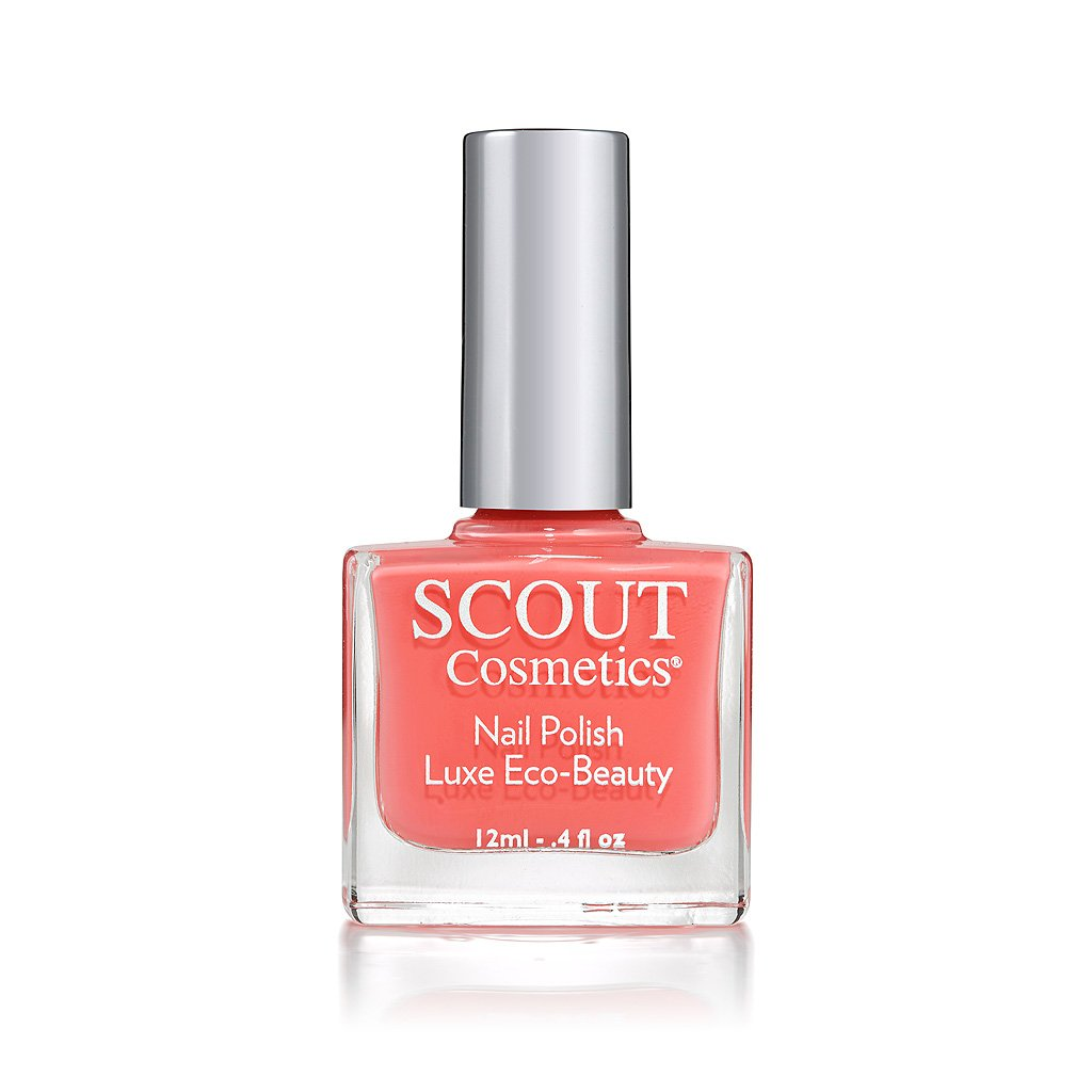 SCOUT Cosmetics Breathable Nail Polish – About A Girl– Vegan – Cruelty Free - Water Permeable and NO NASTY CHEMICALS