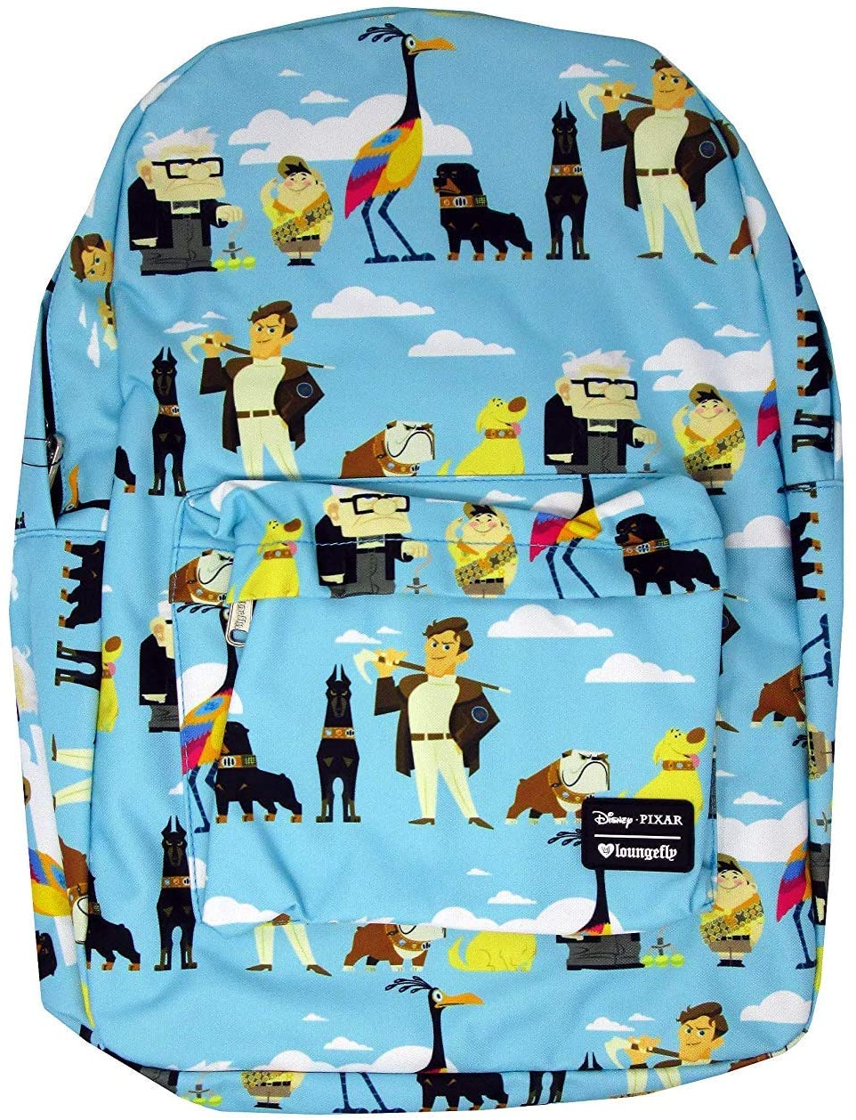 Loungefly Up - All Over Print Characters Backpack Fits Laptop
