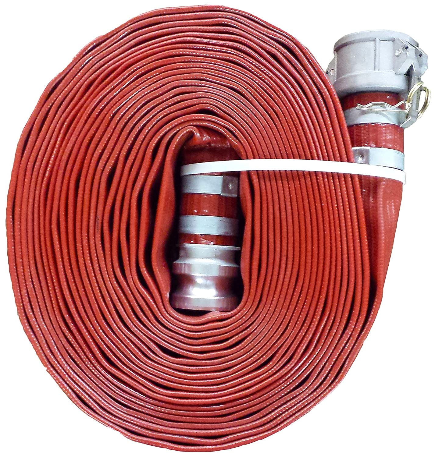 JGB Enterprises A008-0241-3525 Eagle Red PVC Discharge Hose, 1-1/2