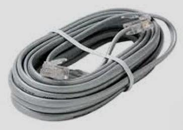 Line Cord 14 Ft Silver Satin 4 Conductor New in a Factory Sealed Bag
