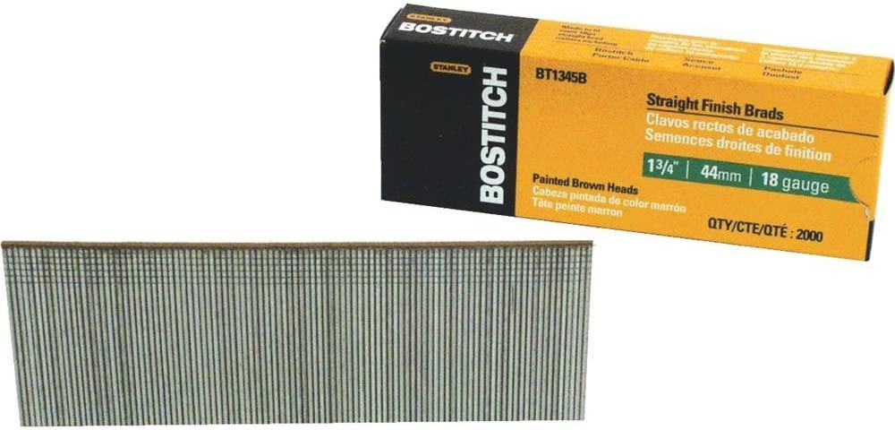 Bostitch Stanley BT1345B 1-3/4 Brad Nails 2,000 Count