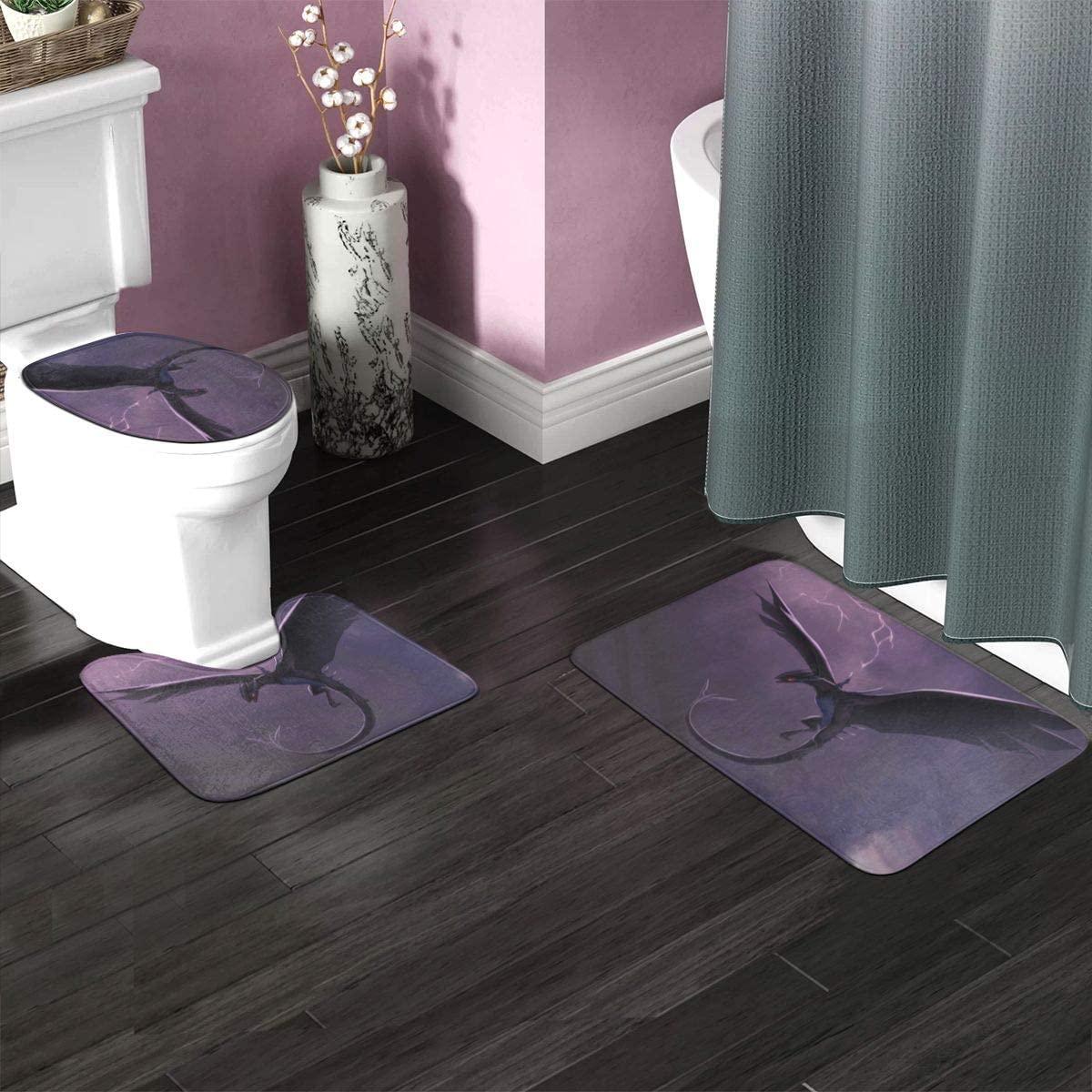 3 Pieces Bathroom Rug Set 35.4