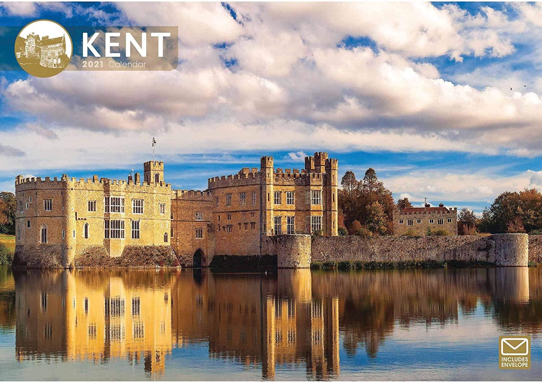 Kent A4 Calendar 2021