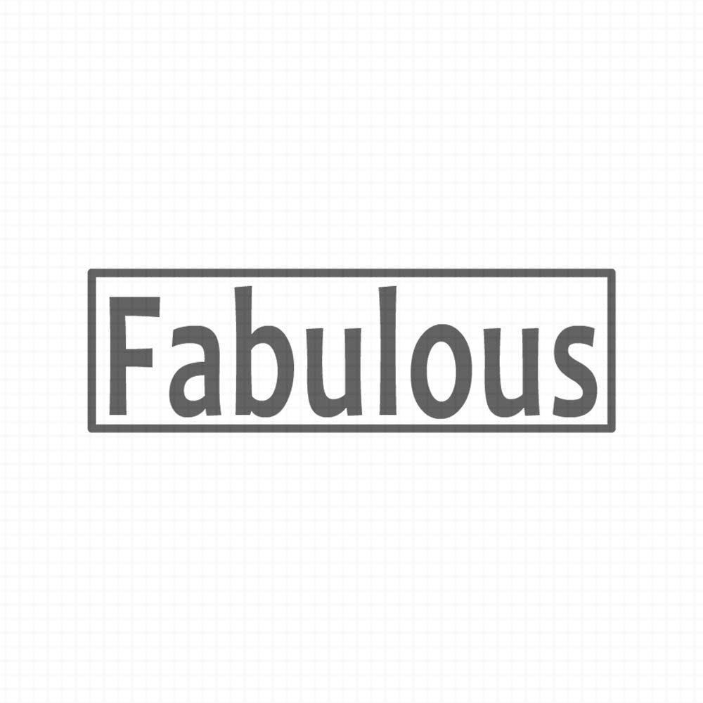 Fabulous, pre-Inked Teacher Rubber Stamp (#580158-38BE)