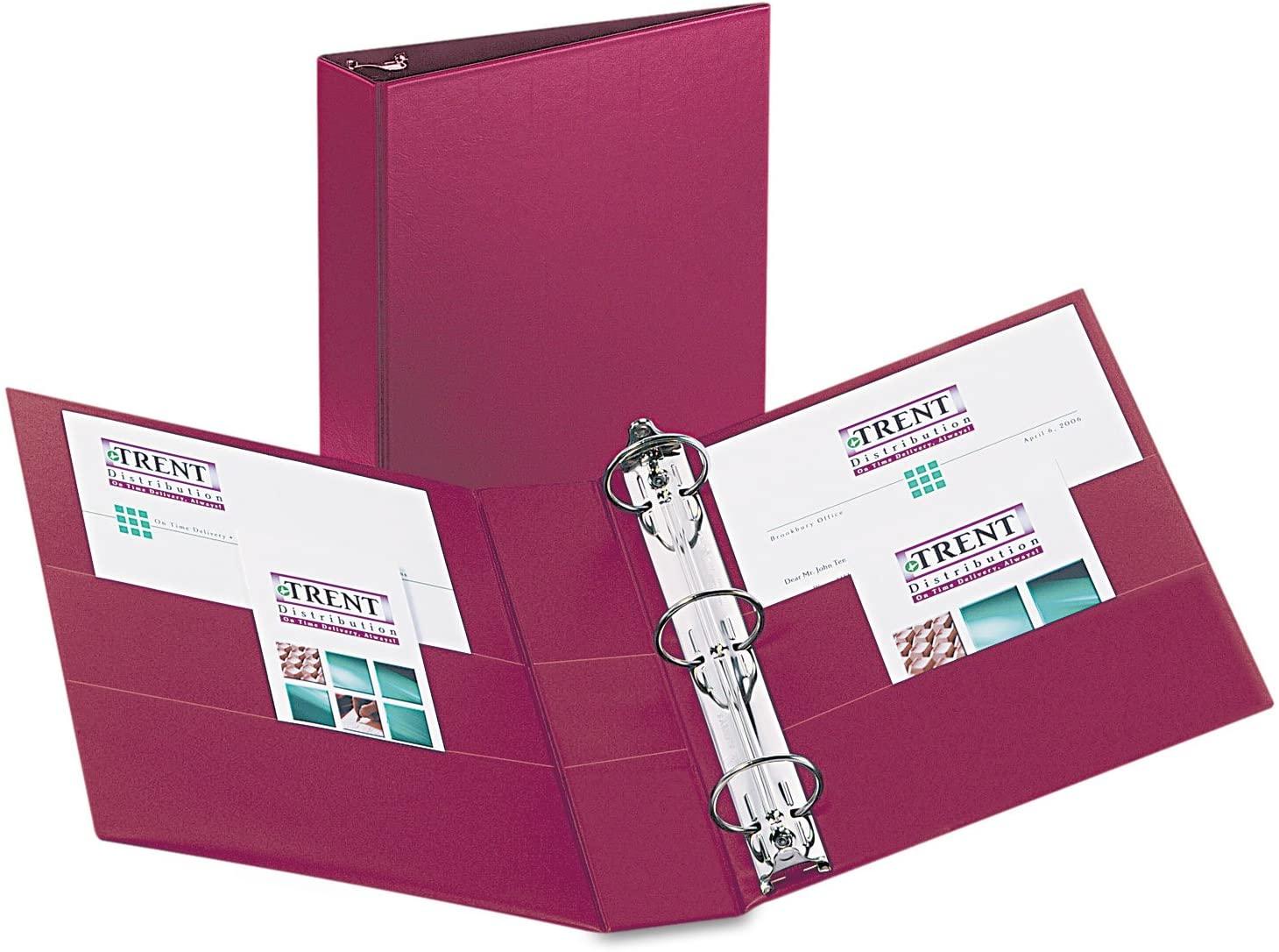 Avery 27552 Durable Binder, 2-Inch Capacity, 11-Inch x8-1/2-Inch, Burgundy
