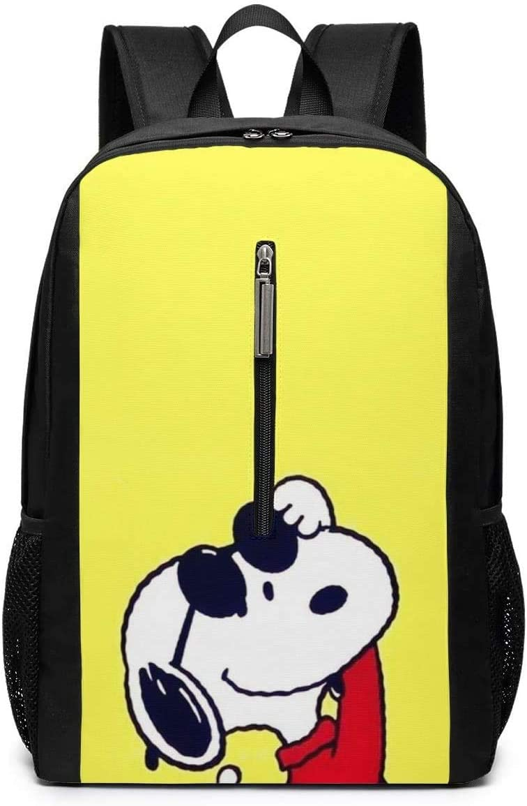 Backpack 17 Inch, Cool Snoopy Large Laptop Bag Travel Hiking Daypack for Men Women School Work