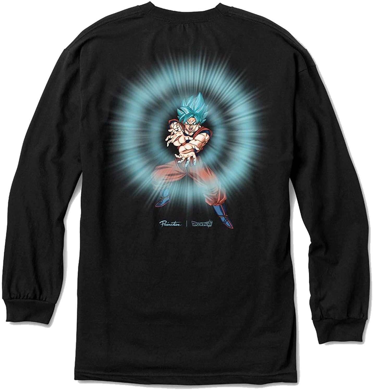Primitive Skate x Dragon Ball Z Men's Energy Long Sleeve T Shirt