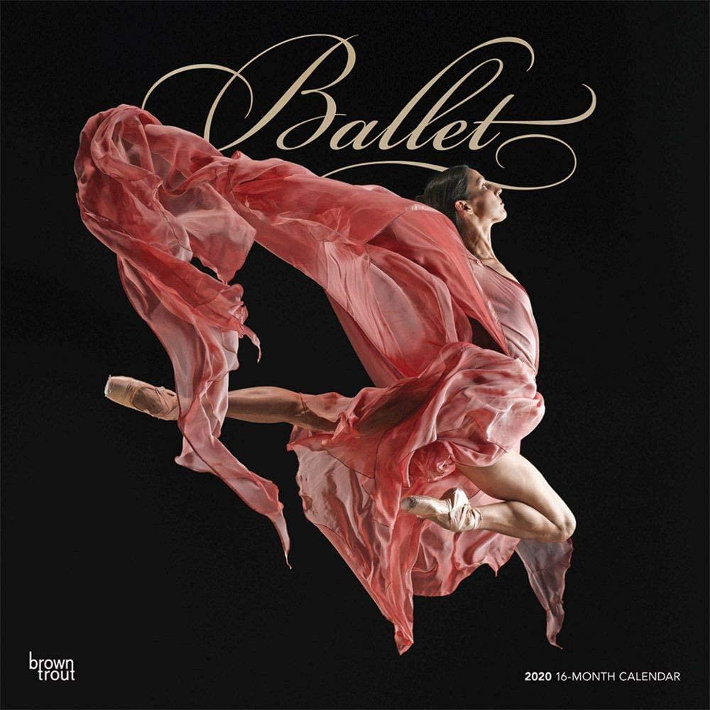 BrownTrout, Ballet Wall Calendar 2020