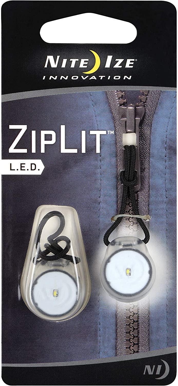 Nite Ize Ziplit White Led Light, 2-Pack