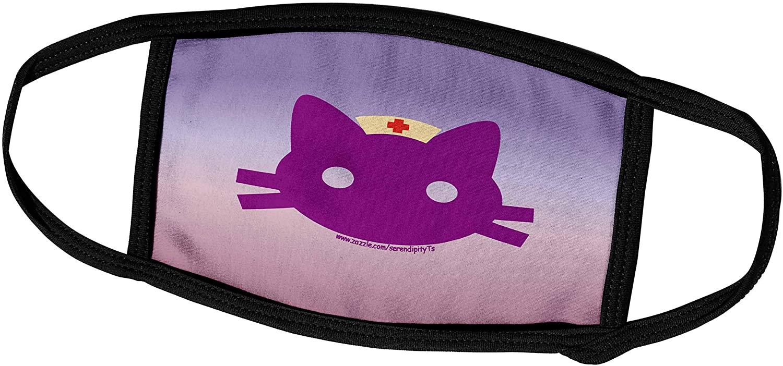 3dRose Deniska Designs Nurse - Nurse Kitty - Face Masks (fm_11925_1)