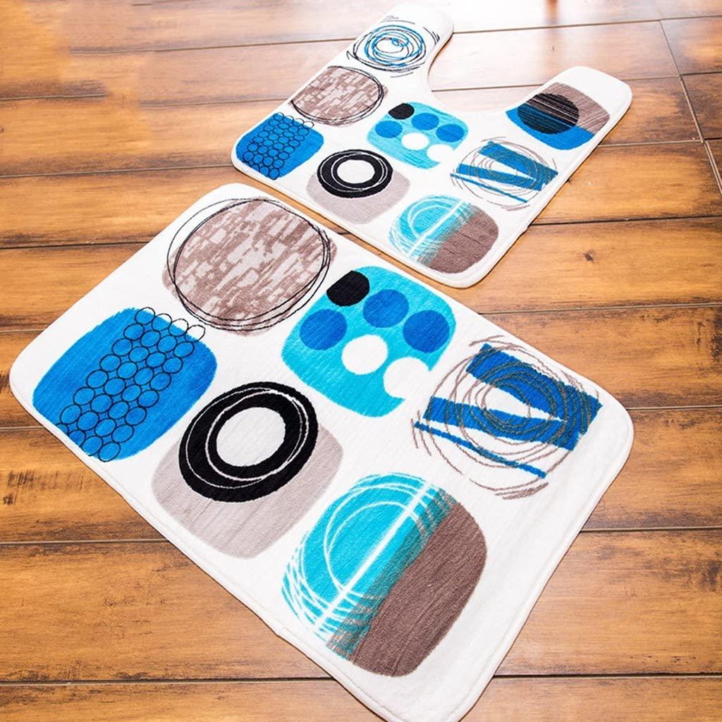 CARPET Carpet-Table Computer Sofa Room Carpet, Slip Sponge Bath Toilet U-Shaped Memory Foam Pad Machine Washable Mats Piece Mat Child Keep Warm in Winter