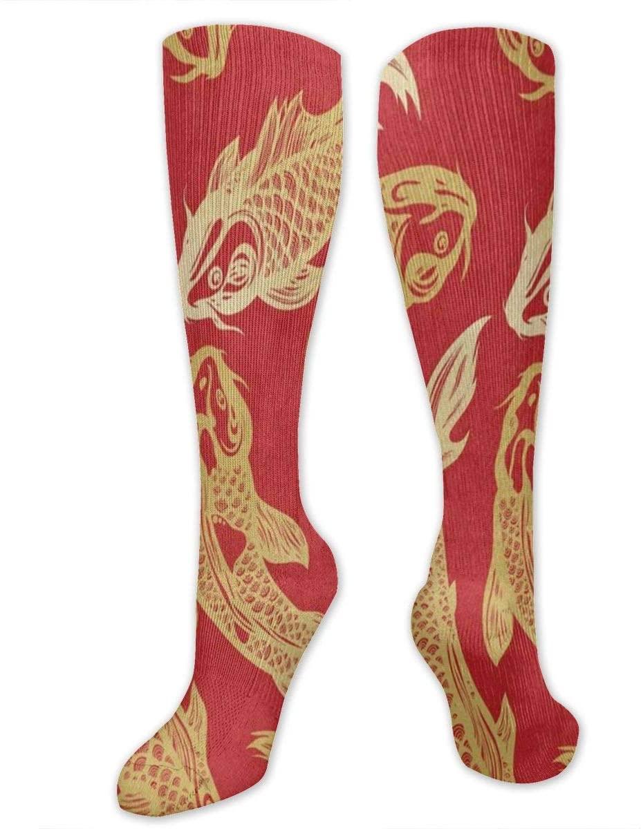 Socks Koi Carp Fish Fabulous Womens Stocking Decoration Sock Clearance for Girls