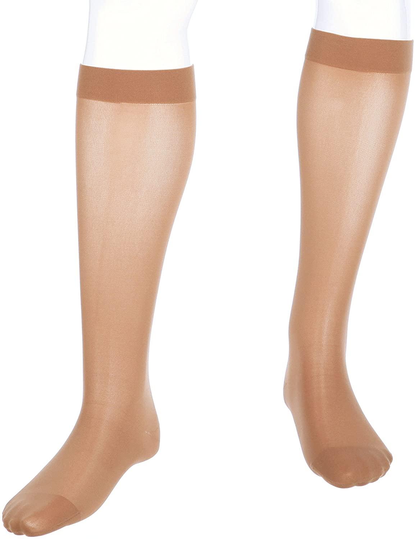 medi Assure, 30-40 mmHg, Calf High Compression Stockings, Closed Toe