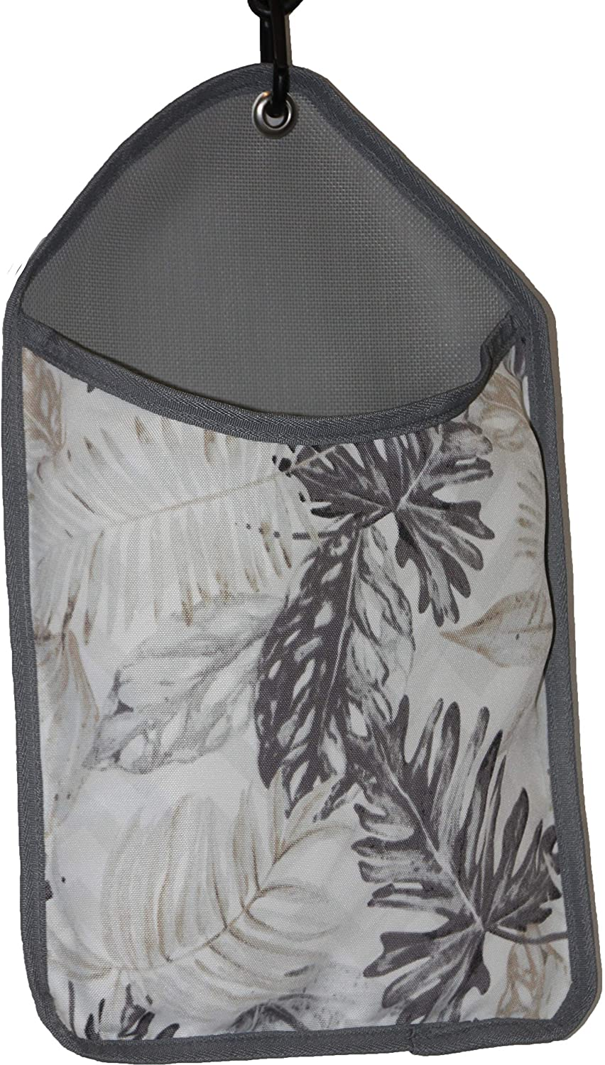 Kangaroo Reef Laundry Storage Clothespin Bag Florals (Beige)