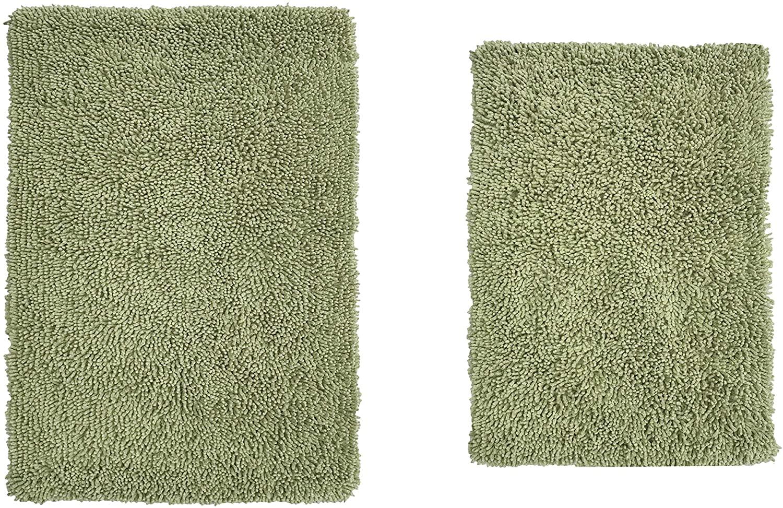 Home Weavers Fantasia Bath Absorbent Cotton, Soft Rug, Machine wash Dry, 17