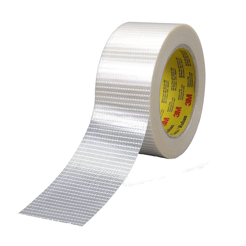 Scotch Bi-Directional Filament Tape 8959 Clear, 19 mm x 50 m (Case of 48)