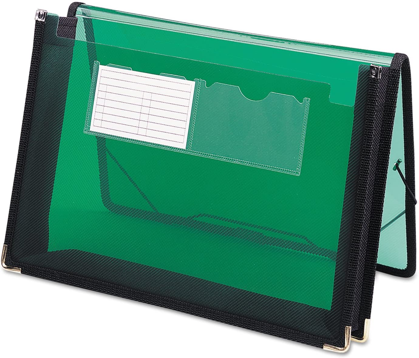 Smead 71951 2 1/4-Inch Exp Wallet, Poly, Letter, Translucent Green