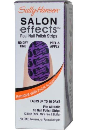 Sally Hansen Salon Effects - Amp It Up / Rock of Ages - Nail Polish Strips
