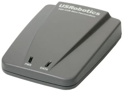 USRobotics 5635 56K USB Mini Faxmodem