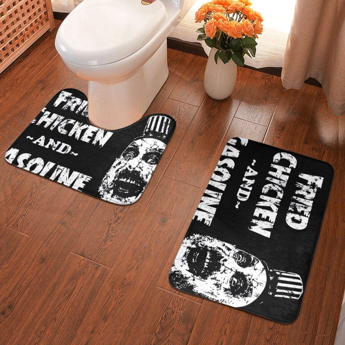 Qwertyi Captain Spaulding Bathroom Rug Bathroom Antiskid Pad Mats Set 2 Piece Pads Bath Mat