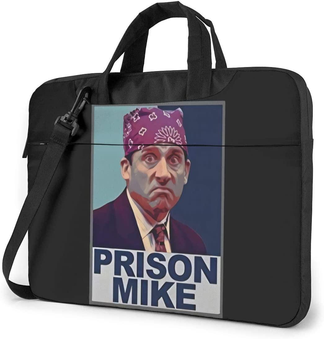 Tv Show Michael Scott Prison Mike Shockproof Single Shoulder Messenger Laptop Bag