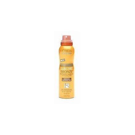 LOreal Body Sublime Bronze, ProPerfect Airbrush, Self Tanning Mist Medium Natural Tan 4.2 oz (192 g) by LOreal Paris