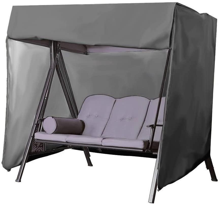 Garden Hanging Chair Waterproof Cover Outdoor Swing Rain Cover Dust Cover Garden Waterproof Canopy Terrace F6/22